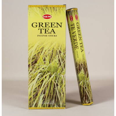 HEM8326FSHD HEM Füstölő 20 szállas Green Tea