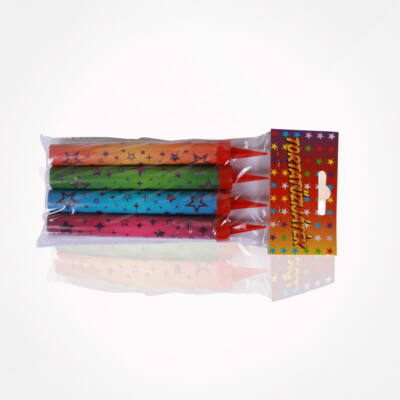 CRC9239PTTR Tortagyertya 12 cm színes