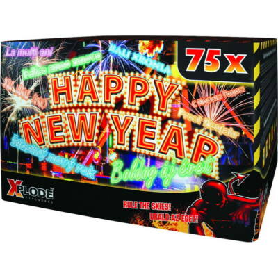 CRC9334PTEE HAPPY NEW YEAR 75s