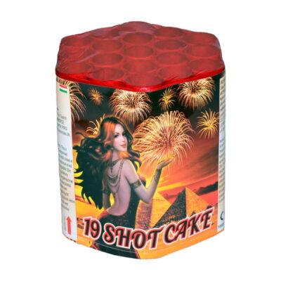 1019-4 19 shot cake