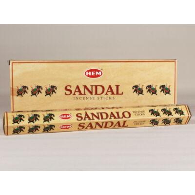 HEM0049FSHD HEM Füstölő 20 szállas Sandalo