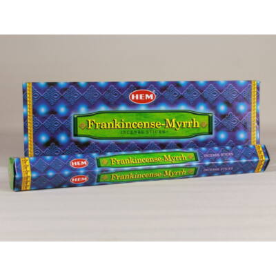 HEM0162FSHD HEM Füstölő 20 szállas Frankincenses Myrrh
