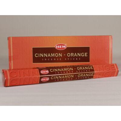 HEM0181FSHD HEM Füstölő 20 szállas Cinnamon Orange