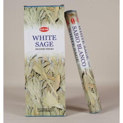 HEM0476FSHD HEM Füstölő 20 szállas White Sage