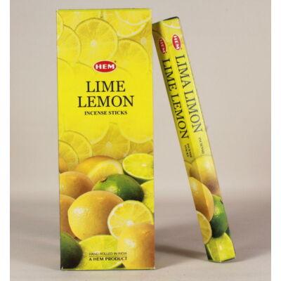 HEM0617FSHD HEM Füstölő 20 szállas Lime lemon