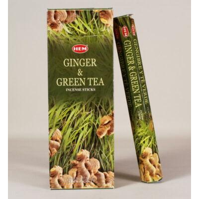 HEM0743FSHD HEM Füstölő 20 szállas Ginger & Green Tea