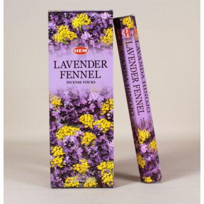 HEM0861FSHD HEM Füstölő 20 szállas Lavender