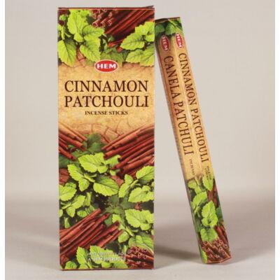 HEM0862FSHD HEM Füstölő 20 szállas Cinnamon Patchouli